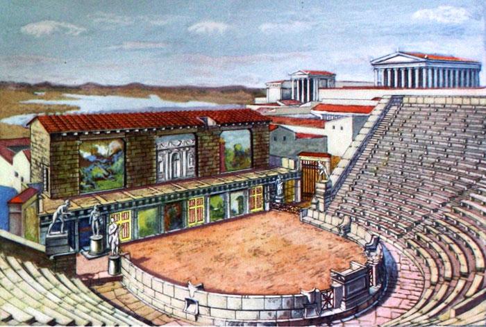 Театр древнегреческий